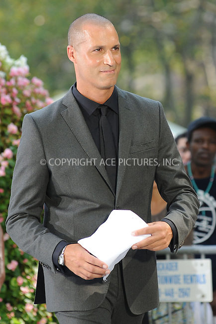 WWW.ACEPIXS.COM<br /> September 11, 2013 New York City<br /> <br /> Nigel Barker taping a segment for 'The Face' in Bryant Park on September 11, 2013 in New York City.<br /> <br /> By Line: Kristin Callahan/ACE Pictures<br /> <br /> ACE Pictures, Inc.<br /> tel: 646 769 0430<br /> Email: info@acepixs.com<br /> www.acepixs.com<br /> Copyright:<br /> Kristin Callahan/ACE Pictures