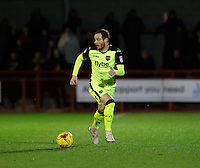 Exeter City's Ryan Harley on the ball during the Sky Bet League 2 match between Crawley Town and Exeter City at Broadfield Stadium, Crawley, England on 28 February 2017. Photo by Carlton Myrie / PRiME Media Images.