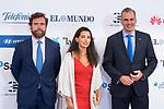 Espinosa de los Monteros, Rocio Monesterio and Javier Ortega Smith during Commemorative act of the foundation of newspaper 'El Mundo'. October 01, 2019. (ALTERPHOTOS/ Francis Gonzalez)