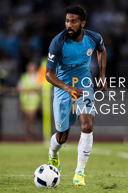 Manchester City defender Gael Clichy during the match between Manchester City vs Borussia Dortmund at the 2016 International Champions Cup China match at the Shenzhen Stadium on 28 July 2016 in Shenzhen, China. Photo by Victor Fraile / Power Sport Images