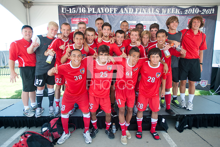 FRISCO, TX--US Soccer Development Academy, Pizza Hut Park, Frisco, TX.