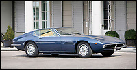 BNPS.co.uk (01202 558833)<br /> Pic: Bonhams/BNPS<br /> <br /> 1969 Maserati Ghibli SS estimated at &pound;130,000.<br /> <br /> If barn finds are the holy grail for car collectors then this selection of 12 vintage motors worth &pound;2million found languishing in a Swiss schloss is something else. <br /> <br /> The stunning collection, which boasts an iconic 1921 Rolls-Royce Silver Ghost, was started by a wealthy car enthusiast in the 1950s but since his death has remained largely untouched. <br /> <br /> However, the original owner's son recently rediscovered his father's haul and will now offer it at auction.