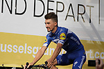 Julian Alaphilippe (FRA) Deceuninck-Quick Step at the team presentation held on the Grand-Place before the 2019 Tour de France starting in Brussels, Belgium. 4th July 2019<br /> Picture: Colin Flockton | Cyclefile<br /> All photos usage must carry mandatory copyright credit (© Cyclefile | Colin Flockton)