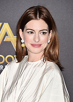BEVERLY HILLS, CA - NOVEMBER 04: Anne Hathaway arrives at the 22nd Annual Hollywood Film Awards at the Beverly Hilton Hotel on November 4, 2018 in Beverly Hills, California.<br /> CAP/ROT/TM<br /> &copy;TM/ROT/Capital Pictures
