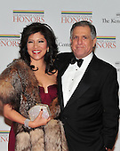 Julie Chen and Les Moonves arrive for the formal Artist's Dinner at the United States Department of State in Washington, D.C. on Saturday, December 4, 2010..Credit: Ron Sachs / CNP.