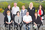JUST COOKING:Chef Mark Doe of just cooking.ie and Maura Keating-Oum of Forever Living who hosted a Health, Wellbeing and Weight management information evening in aid of the Kerry Hospice Foundation at the Ballyroe Heights hotel, Tralee on Thursday seated l-r: Margaret Cahillane, Mairead McMahon, Mark Doe and Mary McDonnell. Back l-r: Darina Burke, Danny Galvin (Kerry Hospice Foundation), Maria McMahon, Maura Keating-Oum and Noreen Evans...