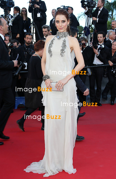 CPE/Model Cansu Dere attend the 'La Venus A La Fourrure' premiere during The 66th Annual Cannes Film Festival at the Palais des Festivals on May 25, 2013 in Cannes, France.