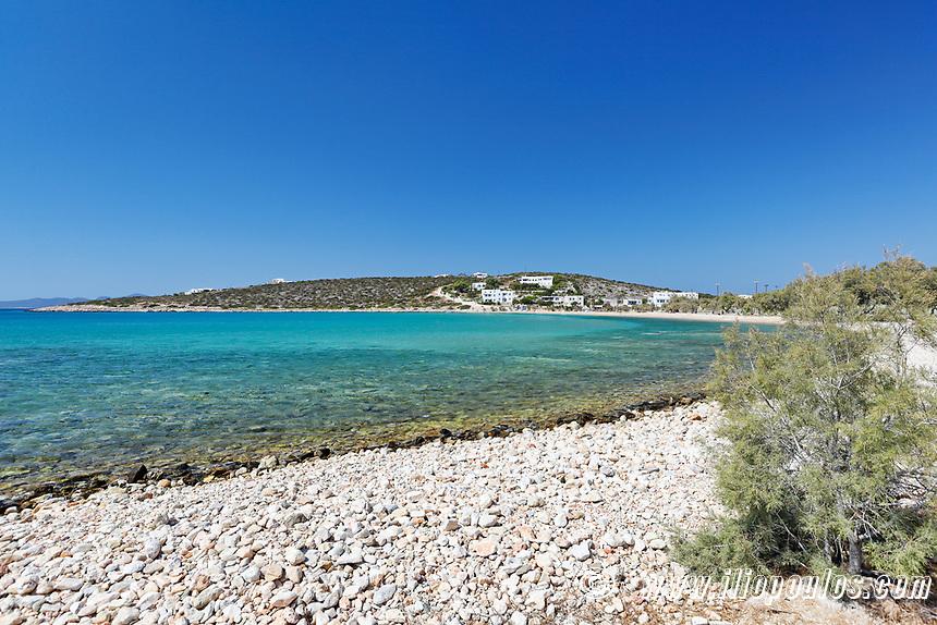 Alyki beach in Paros island, Greece