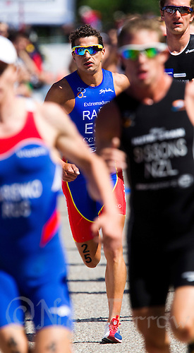 04 JUN 2011 - MADRID, ESP - Ivan Rana - Madrid round of triathlon's ITU World Championship Series  (PHOTO (C) NIGEL FARROW)