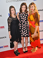 Lexie Roth, Kate Henoch &amp; Gillian Gordon at the premiere for &quot;Chappaquiddick&quot; at the Samuel Goldwyn Theatre, Los Angeles, USA 28 March 2018<br /> Picture: Paul Smith/Featureflash/SilverHub 0208 004 5359 sales@silverhubmedia.com