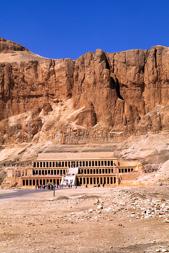 Valley of the Kings Funeral Temple of Queen Hatchepsuit in Egypt