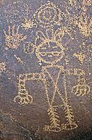 Petroglyphs at Piedras Marcadas Canyon at Petroglyph National Monument, Albuquerque, New Mexico, USA,TomBean_Pix_1950