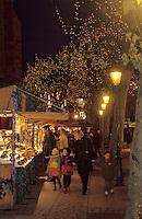 Europe/France/Alsace/68/Haut-Rhin/Colmar: Noël à Colmar - Marché de Noël place des Dominicains (AUTORISATION N°242-243-244)