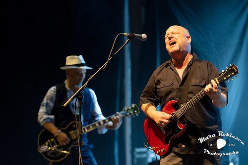 Black Francis, Pixies, music photography by Akron music photographer Mara Robinson