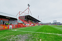 General view of the main stand ahead of Crawley Town vs Carlisle United, Sky Bet EFL League 2 Football at Broadfield Stadium on 15th February 2020