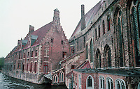 Bruges: St. John's Hospital, 12th & 13th C.  Photo '87.