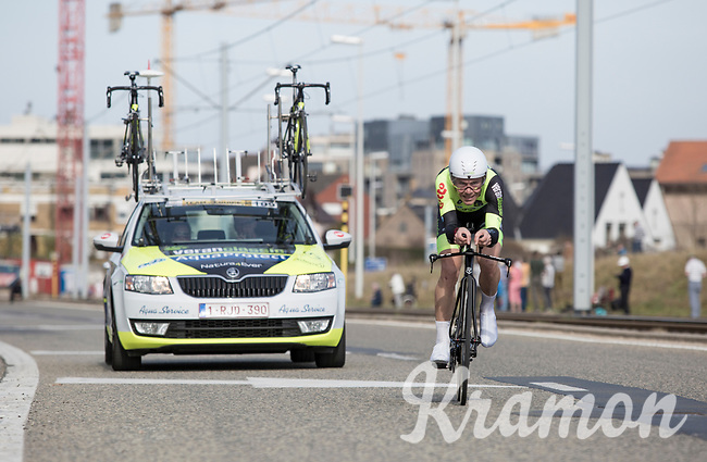 6th place GC: Maxime Vantomme (BEL/Veranclassic Aqua Protect)<br /> <br /> 3 Days of De Panne 2017<br /> afternoon stage 3b: ITT De Panne-De Panne (14,2km)