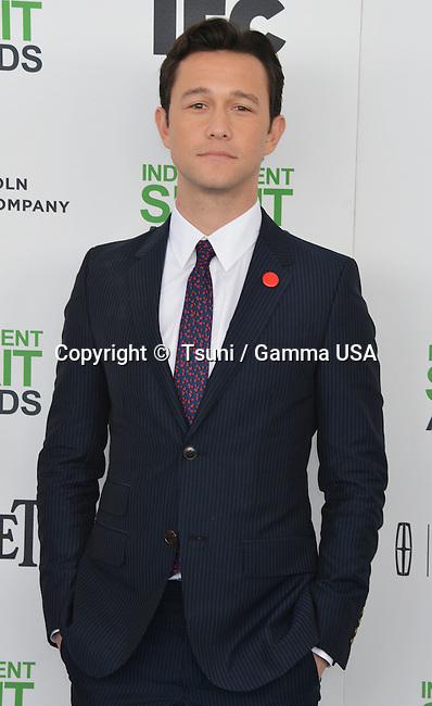 Joseph Gordon-Levitt 056 at the Film Independent Spirit Awards 2014on the Santa Monica Beach In Los Angeles.
