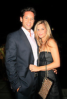 Beverly Hills, California - September 7, 2006.Todd Grinnell and Michele Nordin at the Afterparty for the Los Angeles Premiere of Hollywoodland at the Beverly Hills Hotel..Photo by Nina Prommer/Milestone Photo