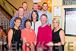 Denis Mc Sweeney from Rathmore celebrated his birthday surrounded by friends and family in the Lork Kenmare restaurant, Killarney last Saturday night.