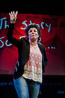 Tuesday 27 May 2014, Hay on Wye, UK<br /> Pictured: Ruby Wax<br /> Re: The Hay Festival, Hay on Wye, Powys, Wales UK