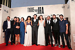 "Raul Arebalo, Antonio de la Torre, Luis Callejo, Ruth Díaz, Manolo Solo, Alicia Rubio, Raúl Jiménez, Font García  during the premiere of the film ""Tarde para la Ira"" in Madrid. September 08, 2016. (ALTERPHOTOS/Rodrigo Jimenez)"