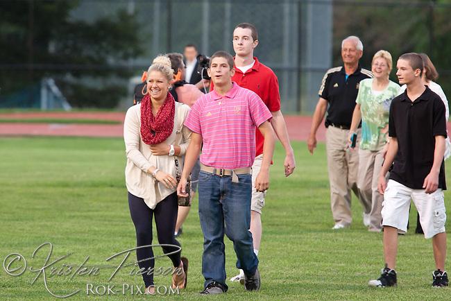 Elizabeth Beisell, 2012 Olympic medal winner celebrates her Rhode Island homecoming at North Kingstown High School August 8, 2012