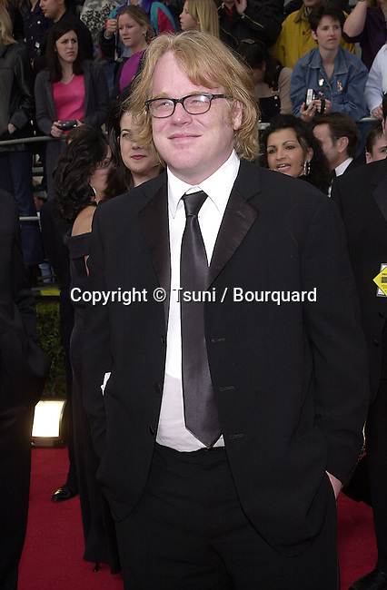 Phillip Seymour Hoffman  arriving at the SAG Awards, at the Shrine Auditorium in Los Angeles  3/11/01             -            SeymourHoffmanPhilip01.jpg