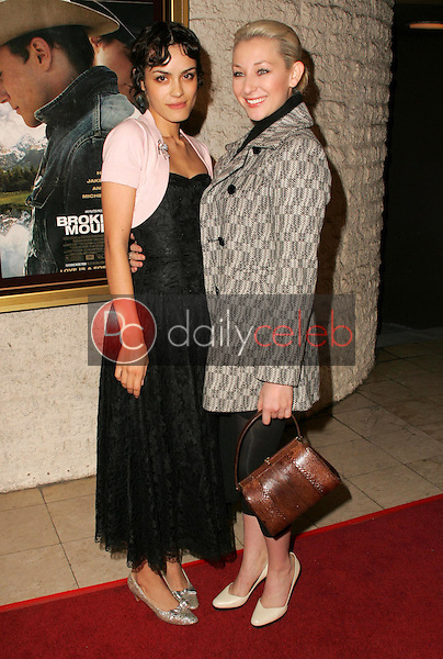 Shannyn Sossamon and friend<br />