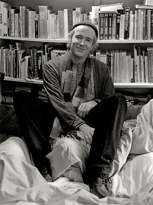 Simon Pettet, 2008.  Poet