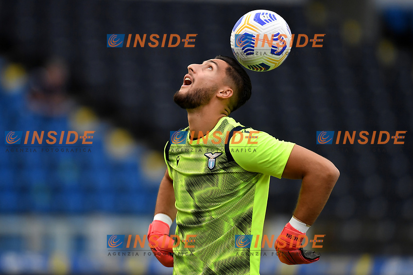 Thomas Strakosha of SS Lazio warms up during the friendly football match between Frosinone calcio and SS Lazio at Benito Stirpe stadium in Frosinone (Italy), September 12th, 2020. SS Lazio won 1-0 over Frosinone. Photo Andrea Staccioli / Insidefoto