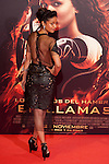 "Actress Meta Golding poses for the photographers during the Spain premiere of the movie ""The Hunger Games: Catching Fire"" at Callao Cinema in Madrid, Spain. November 13, 2013. (ALTERPHOTOS/Victor Blanco)"