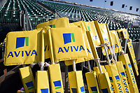 A general view of Aviva Premiership corner flags. Aviva Premiership match, between Bath Rugby and Sale Sharks on February 24, 2018 at the Recreation Ground in Bath, England. Photo by: Patrick Khachfe / Onside Images