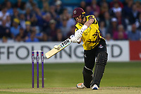 Adam Hose in batting action for Somerset during Essex Eagles vs Somerset, NatWest T20 Blast Cricket at The Cloudfm County Ground on 13th July 2017