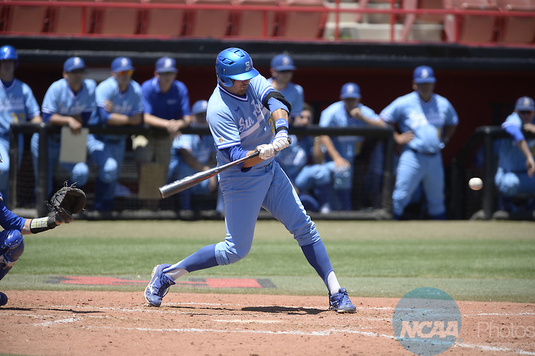 21 May 2014: San Jose State defeats Air Force during the Mountain West Baseball Championship Tournament at Earl E. Wilson Baseball Stadium in Las Vegas, NV. Peter Lockley/NCAA Photos
