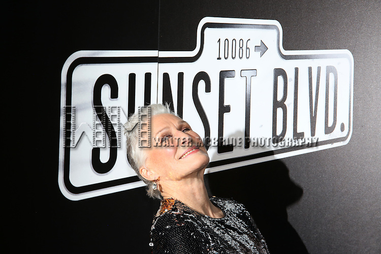 Glenn Close attends the Opening Night After Party for Andrew Lloyd Webber's 'Sunset Boulevard' at the Cipriani on February 9, 2017 in New York City.