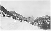 Plowing snow south of Rico near coal chutes.<br /> RGS  Rico, CO  Taken by Kline, Duane - winter 1931