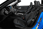 Front seat view of a 2020 BMW Z4 Base 2 Door Convertible front seat car photos