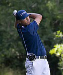 Ryan Palmer swings during the Barracuda Championship PGA golf tournament at Montrêux Golf and Country Club in Reno, Nevada on Sunday, July 28, 2019.