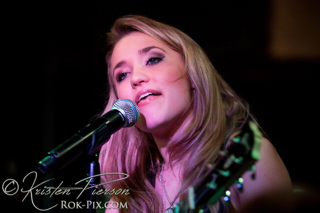 Emily Osment performing in Providence on November 24, 2009