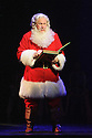 London, UK. 03.11.2015. ELF THE MUSICAL opens at the Dominion Theatre, Tottenham Court Road. Picture shows: Mark McKerracher (Santa). Photograph © Jane Hobson.