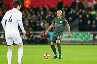Fernandinho of Manchester City during the EPL - Premier League match between Swansea City and Manchester City at the Liberty Stadium, Swansea, Wales on 13 December 2017. Photo by Mark  Hawkins / PRiME Media Images.