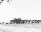 D&amp;RGW Antonito coaling trestle looking southwest.<br /> D&amp;RGW  Antonito, CO