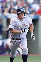 July 15, 2009: Lehigh Valley IronPigs' Andy Tracy running to first base during the 2009 Triple-A All-Star Game at PGE Park in Portland, Oregon.