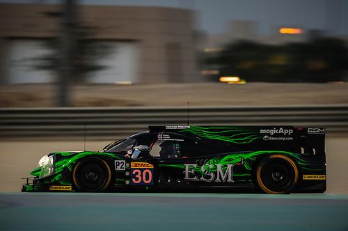 19-21 November 2015, Six Hours of Bahrain, FIA World Endurance Championship, WEC, Sakhir, Bahrain, No. 30 Extreme Speed Motorsports Ligier JS P2 Honda, Scott Sharp, Ryan Dalziel, David Heinemeier Hansson