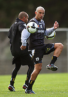 Vince Lia during the Wellington Phoenix A-League football training session Training Session at Newtown Park, Wellington, New Zealand on Monday, 4 May 2009. Photo: Dave Lintott / lintottphoto.co.nz