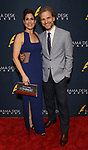 Stephanie J. Block and Sebastian Arcelus during the 2019 Drama Desk Awards at Steinway Hall on June 2, 2019  in New York City.