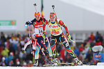 IBU Biathlon World Cup<br /> &copy; Pierre Teyssot<br />  Gabriela Soukalova (NOR SVK) in action during the IBU Biathlon World Cup in Hochfilzen, Austria.