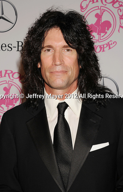 BEVERLY HILLS, CA - OCTOBER 20: Tommy Thayer  arrivesat the 26th Anniversary Carousel Of Hope Ball presented by Mercedes-Benz at The Beverly Hilton Hotel on October 20, 2012 in Beverly Hills, California.