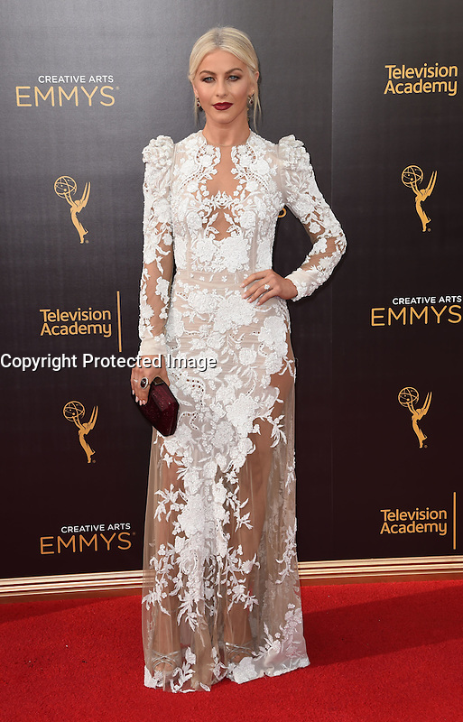 Julianne Hough @ the 2016 Creative Arts Emmy Awards held @ the Microsoft theatre. September 11, 2016